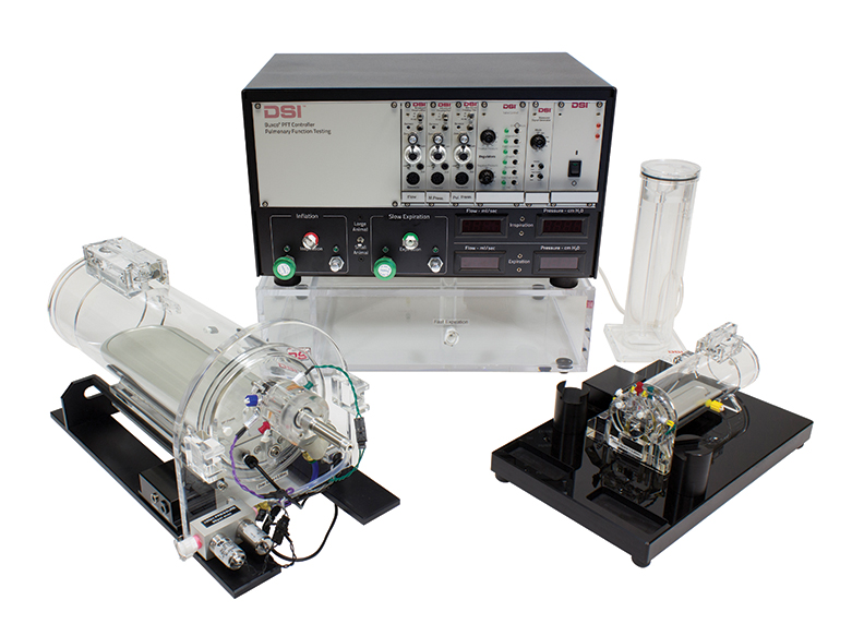 Pulmonary Function Test Controller, Calibrator, and Chambers, pulmonary test, pulmonary testing, PFT