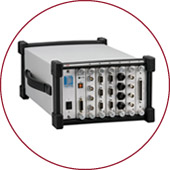 Signal conditioners and amplifiers for preclinical research.